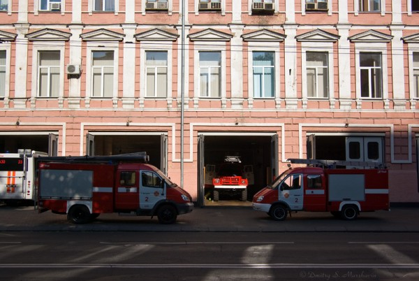 Пожарная часть на Владимирской улице