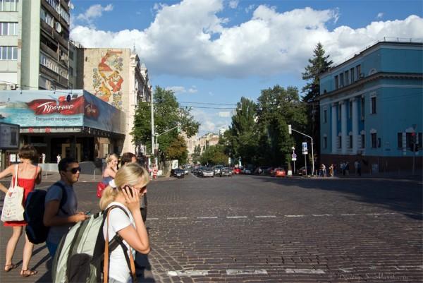 Пересечение улиц Владимирской и Богдана Хмельницкого