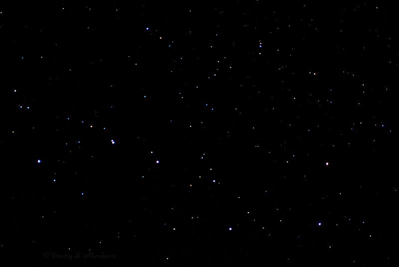 Созвездие Большой Медведицы (Ursa Major)