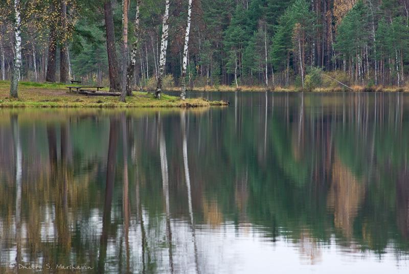 Коркинское озеро, Колтушские высоты, места для отдыха