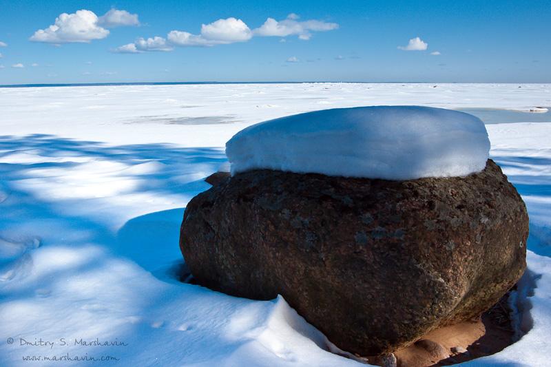 Камень в Финском заливе