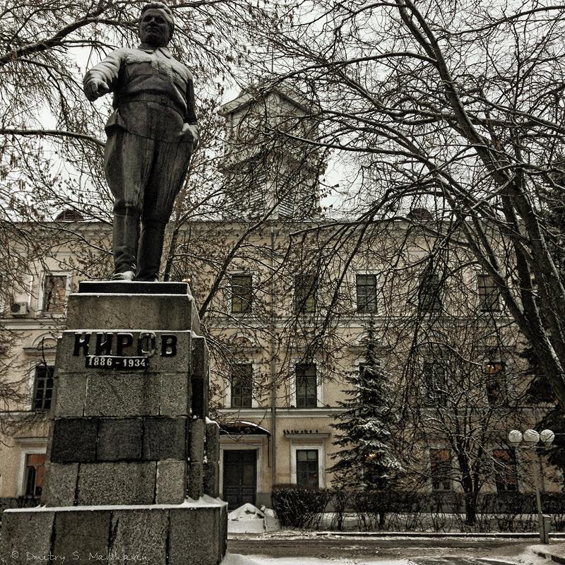 Псков, Октябрьский проспект