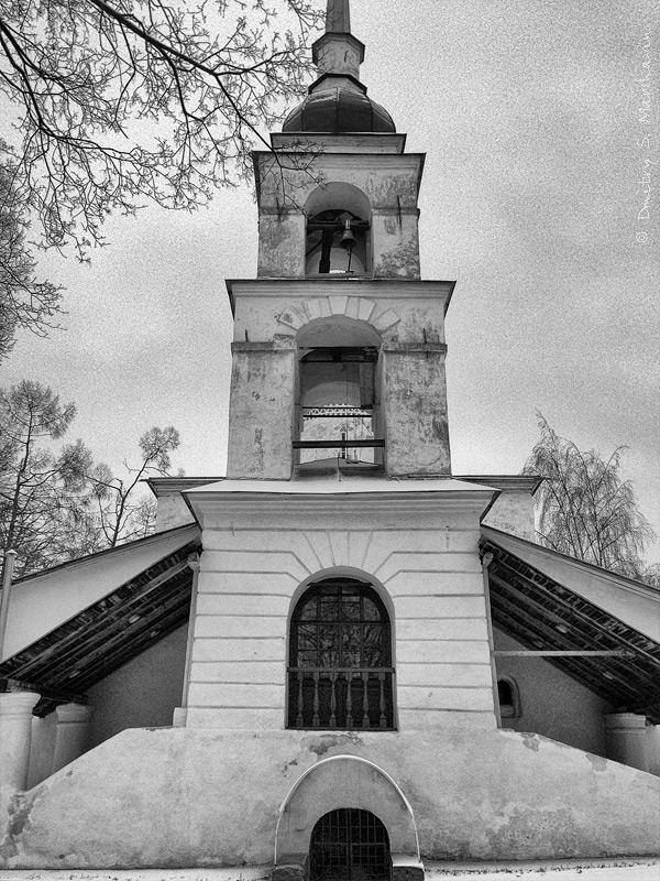 Псков, Октябрьский проспект, церковь Анастасии Римлянки в Кузнецах