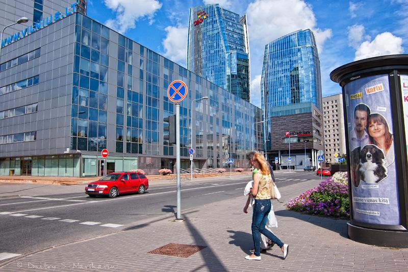 Современный Вильнюс | Modern town of Vilnius