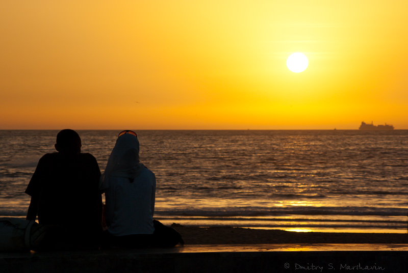 Закат в Агадире | Sunset in Agadir