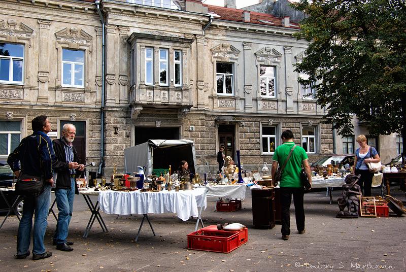 Рынок на Visų Šventųjų gatvė | Market at Visų Šventųjų gatvė