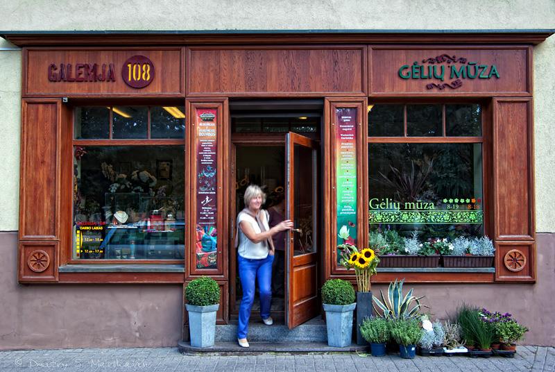 Цветочный магазин в Вильнюсе | Flower shop in Vilnius