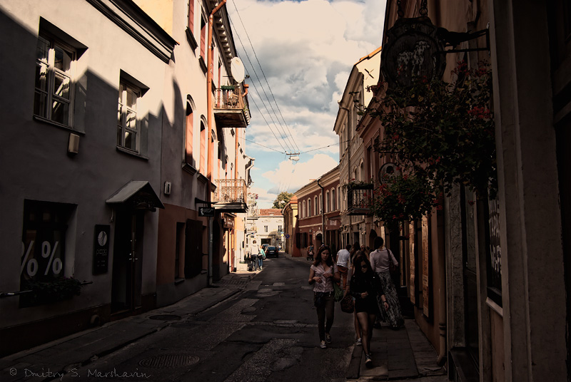 Улочки старого города   Streets of the Old Town